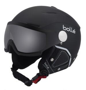 2017-18 Bolle Backline Visor Premium Ski And Snowboard Helmet black
