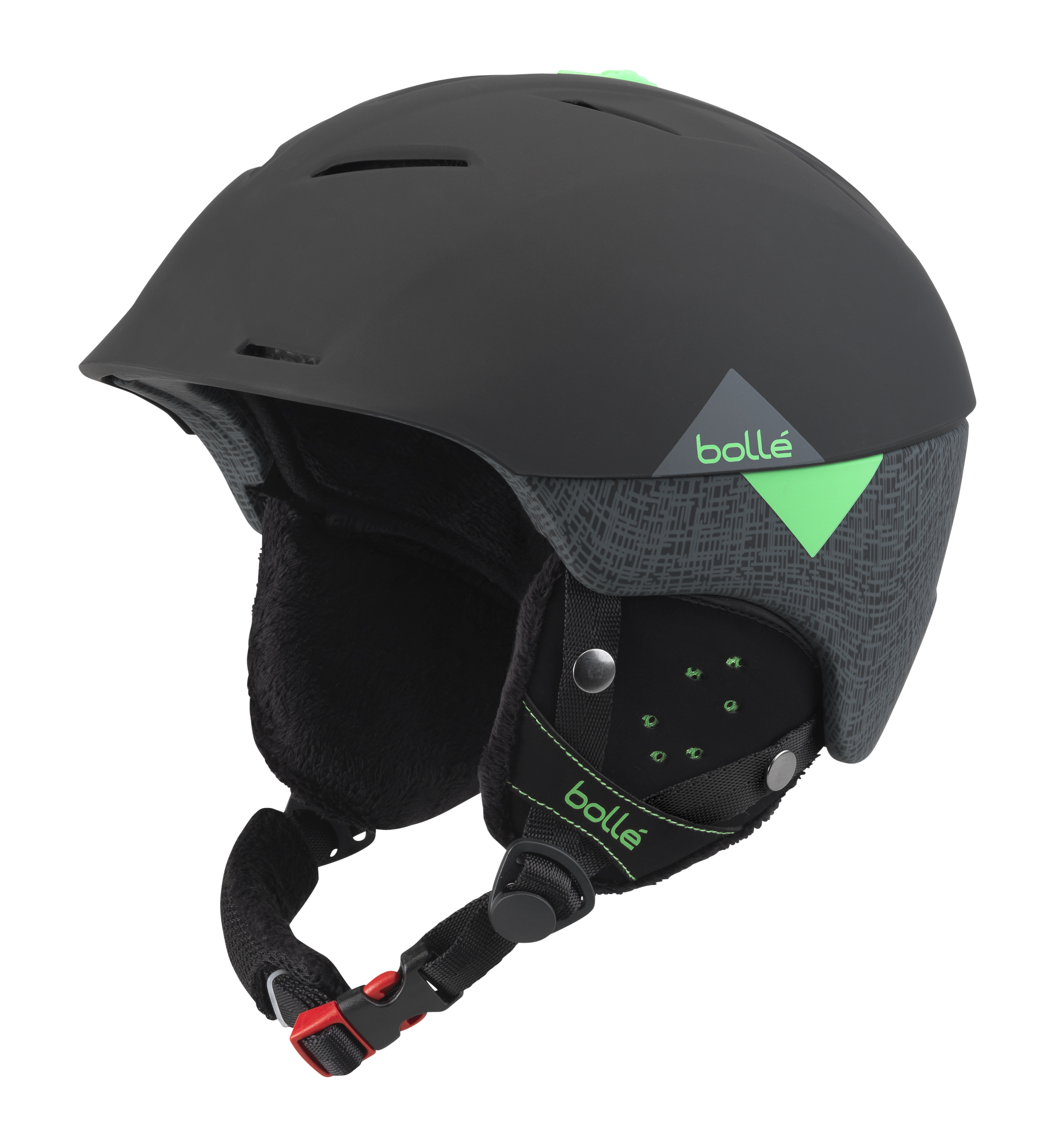 2017-18 Bolle Synergy Ski And Snowboard Helmet black