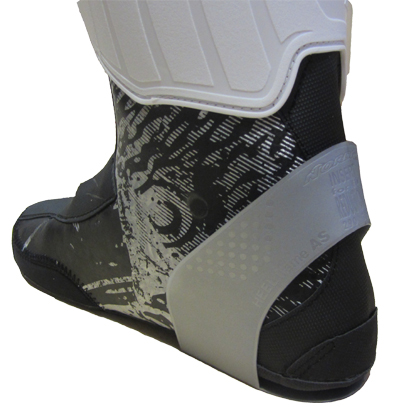 Ski Boot Heel Retainer on Inner Boot
