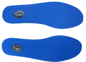 Ski Boot Volume Reducer Blue