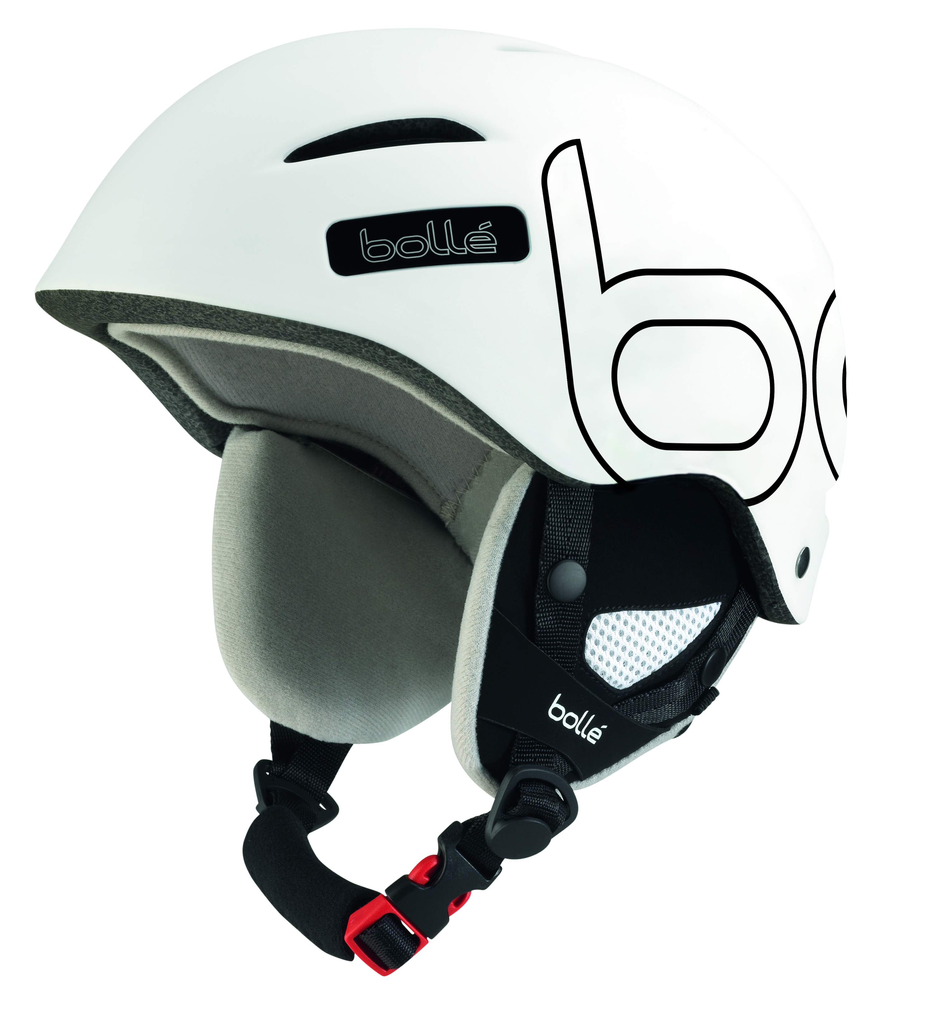 2017-18 Bolle B-Style Ski And Snowboard Helmet white