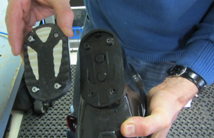 New Ski Boot Heel Rubber Replacement