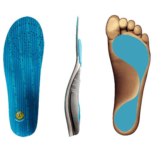 Sidas Conformable 3Feet High Arch Orthotic Insole