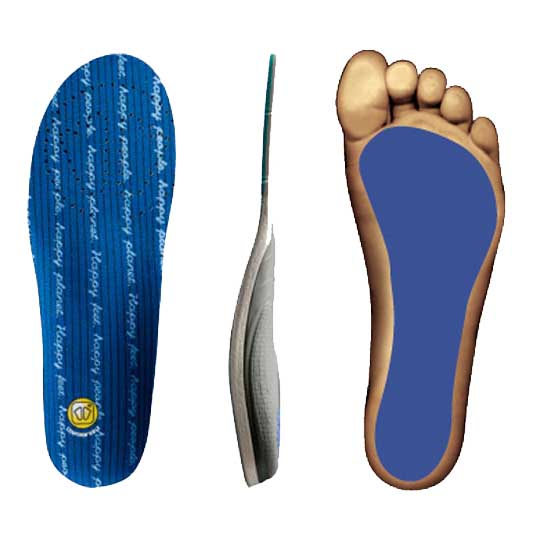 Sidas Conformable 3Feet Low Arch Orthotic Insole