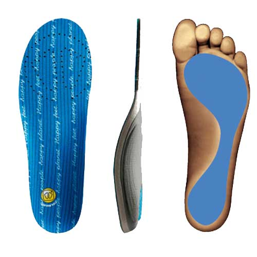 Sidas Conformable 3Feet Mid Arch Orthotic Insole