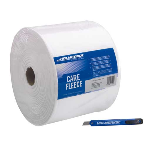 Holmenkol CareFleece Ski Base Cloths 100 Metre Roll