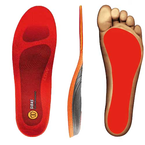 Sidas Conformable 3 Feet Winter Low Arch Orthotic Insole