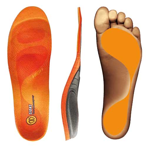 Sidas Conformable 3 Feet Winter High Arch Orthotic Insole