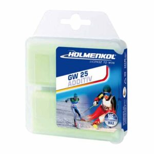 Holmenkol High-Fluor Additive Ski Wax GW 25 2 x 35g