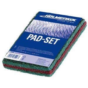 Holmenkol PadSet Ski Base Roughening and Polishing Pads