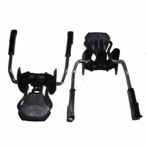 Rossignol Axium Saphir and Look Ski Binding Brake 70mm