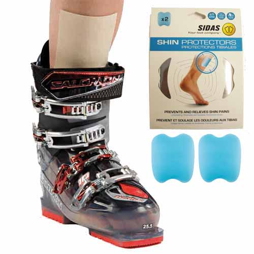 Sidas Shaped Shin Gel Pad x 2 For Ski Boots