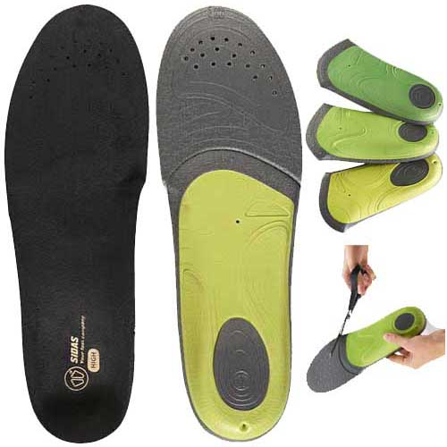 Sidas Conformable 3 Feet Slim High Arch Orthotic Insole