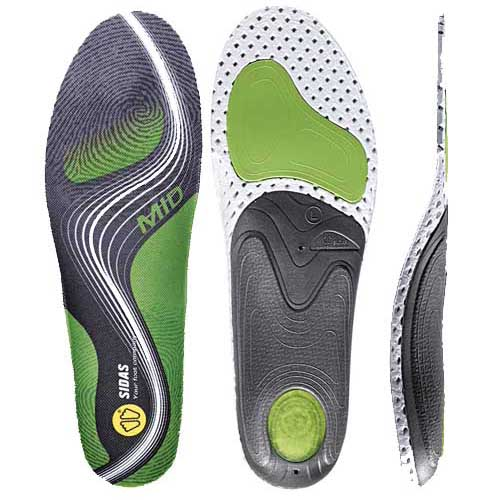 Sidas Conformable 3 Feet Activ Mid Arch Orthotic Insole