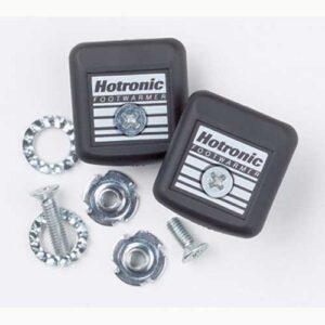 Hotronic Footwarmer Battery Mounting Brackets