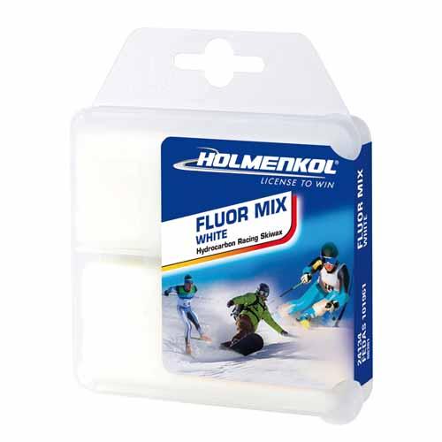 Holmenkol Fluormix White Ski Wax 2 x 35g