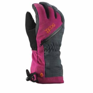 Scott Ultimate Premium Womens Ski Glove purple