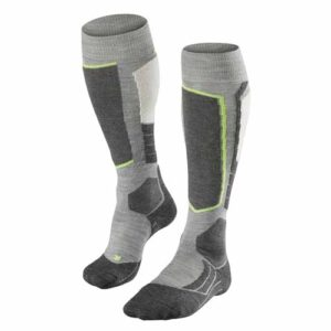 2016-17 Falke SK2 Wool Womens Ski Sock grey heather