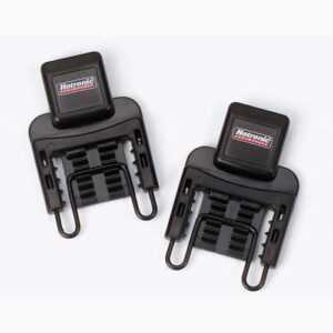Hotronic Footwarmer Battery Strap Mounting Brackets
