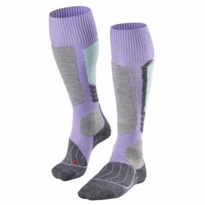 2017-18 Falke SK1 Womens Ski Sock lavender