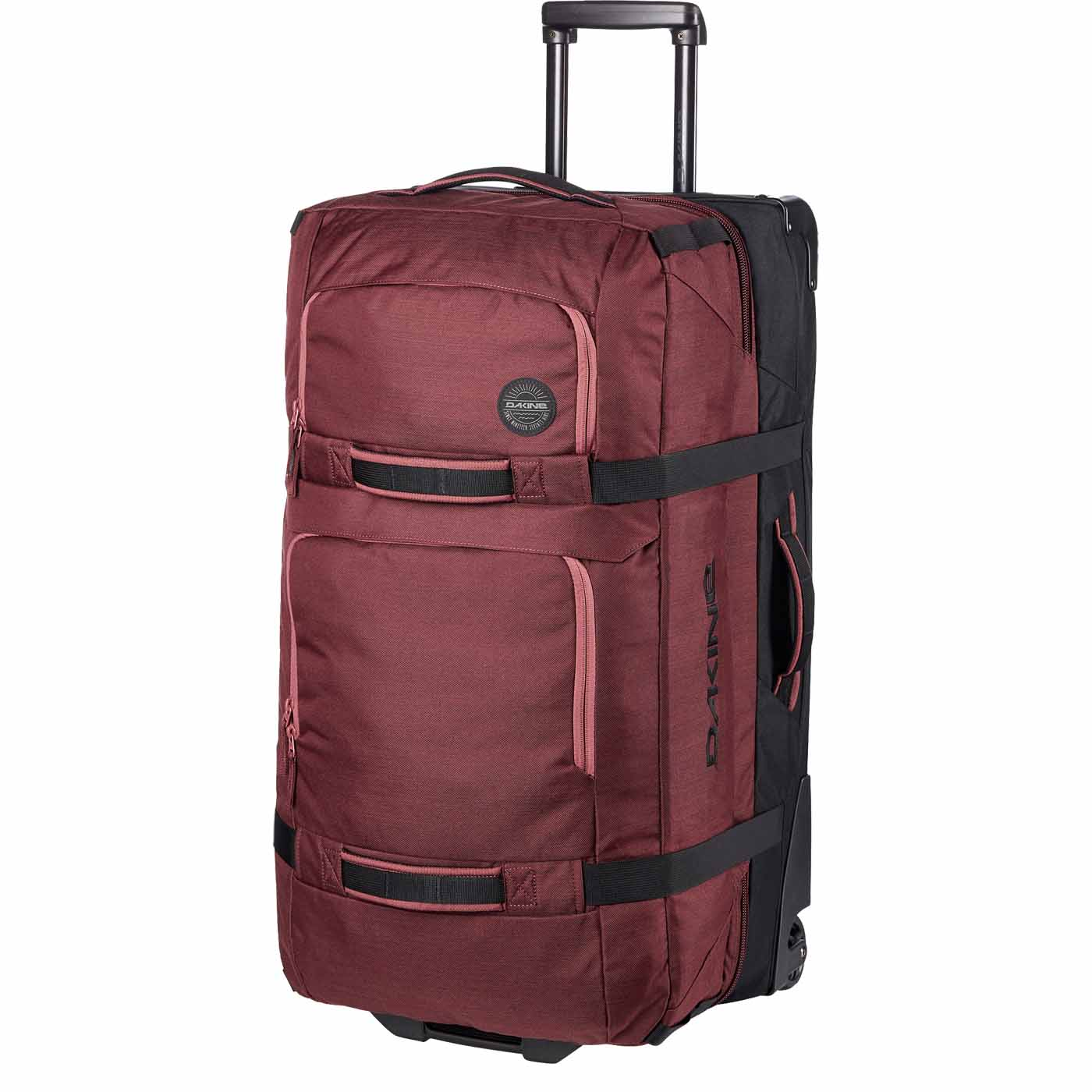 2017-18 Dakine Split Roller 110L Wheeled Travel Bag burnt rose