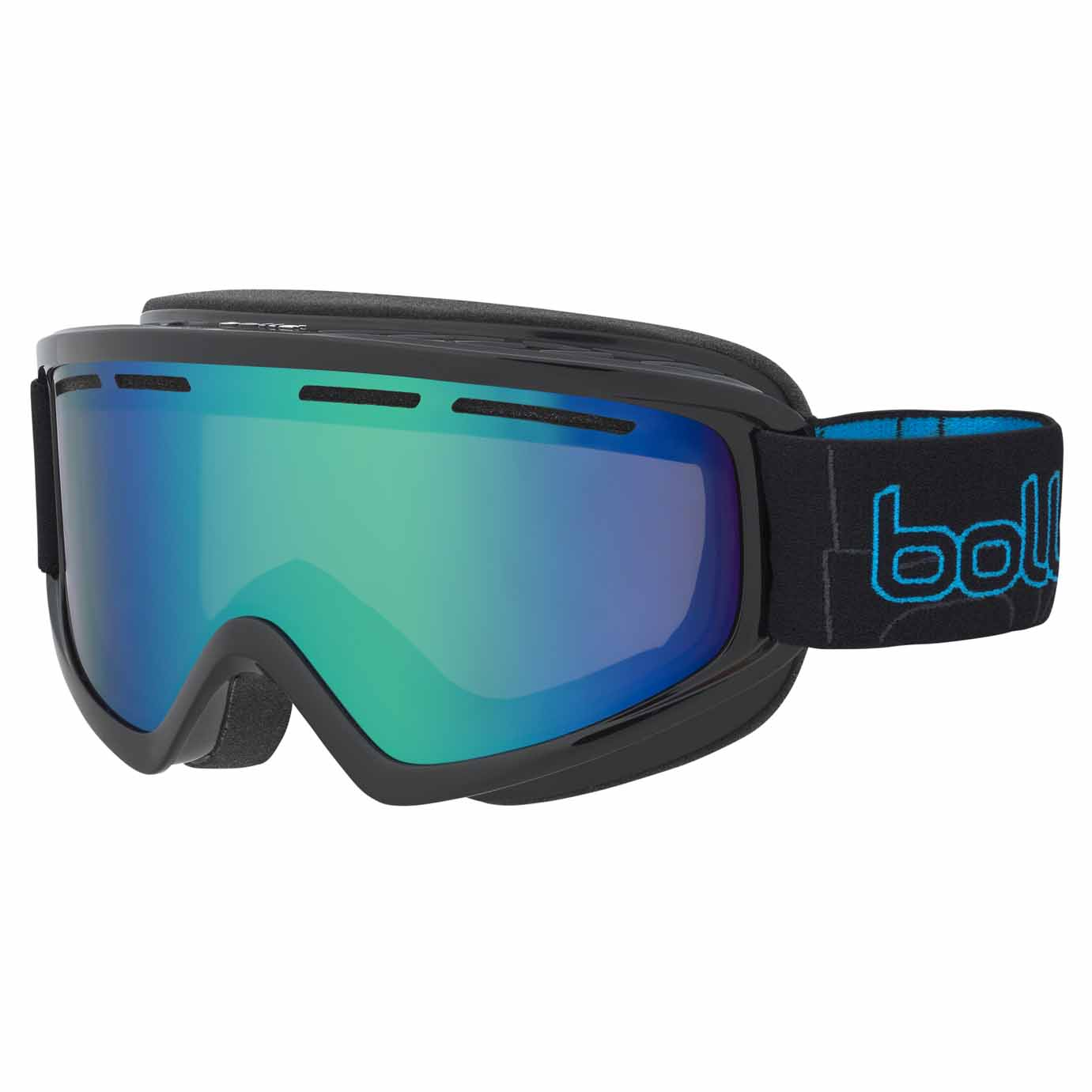 2017-18 Bolle Schuss Ski And Snowboard Goggle green