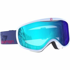 2017-18 Salomon Sense Low Light Womens Ski Goggle white light blue