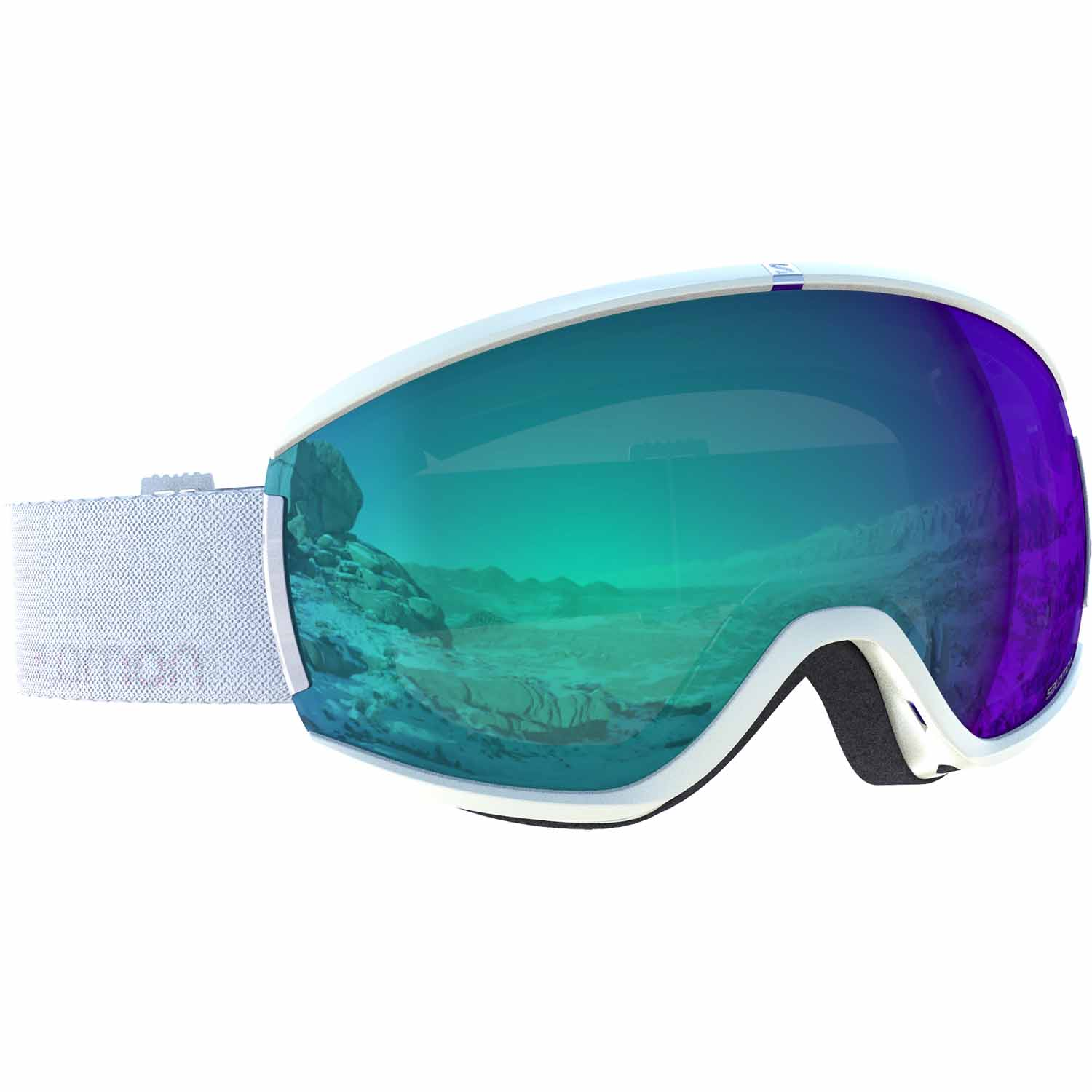 2017-18 Salomon Ivy Womens Ski Goggle white