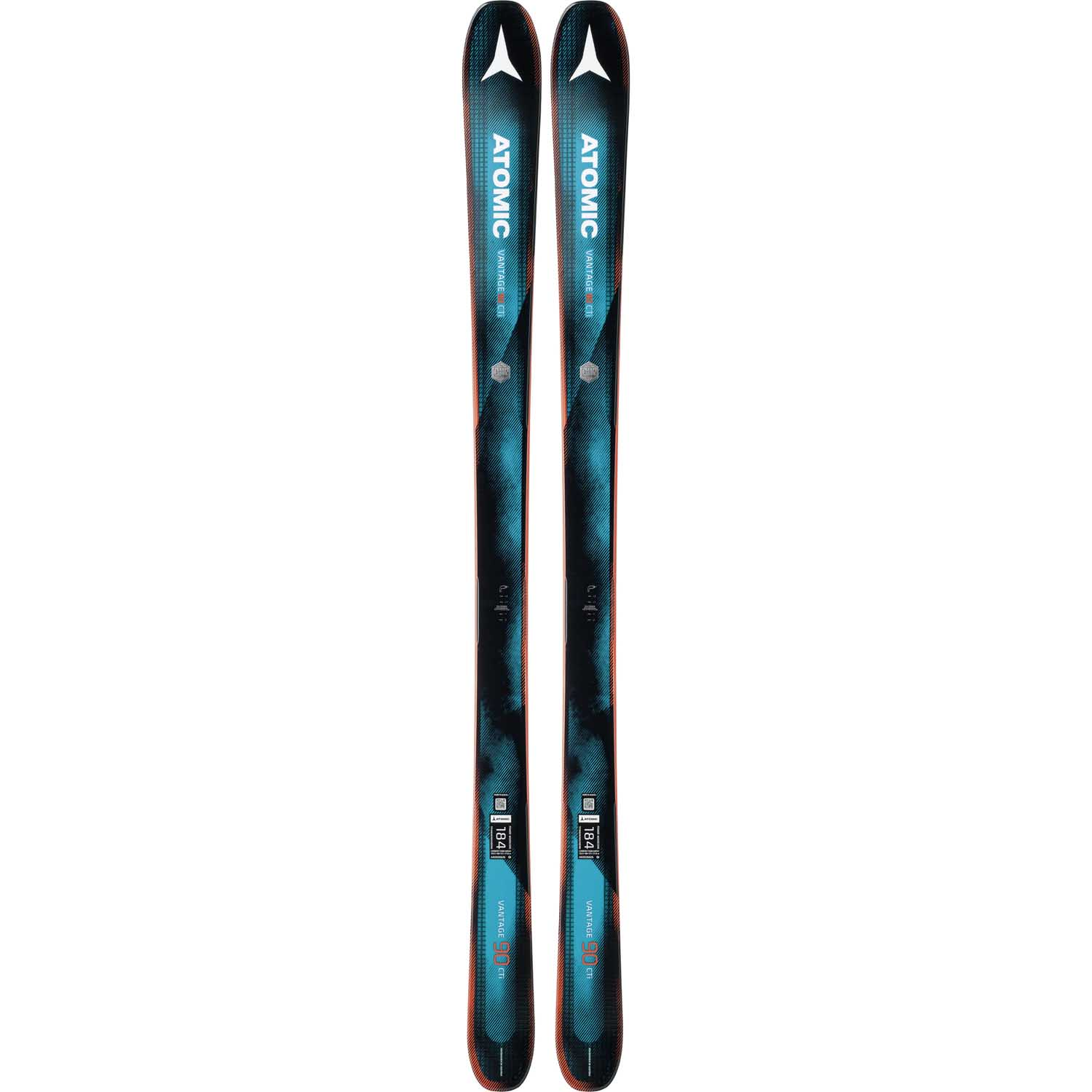 2017-18 Atomic Vantage 90 CTi Ski With Warden 13 MNC Binding