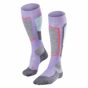 Falke SK2 Womens Ski Sock lavender