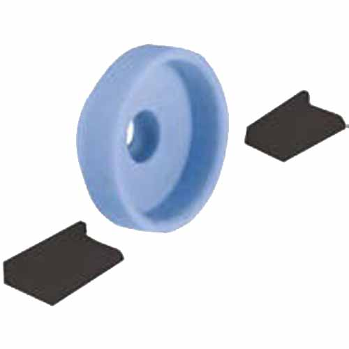 Wintersteiger Discman Spare Grinding Disc and Guide Set Blue