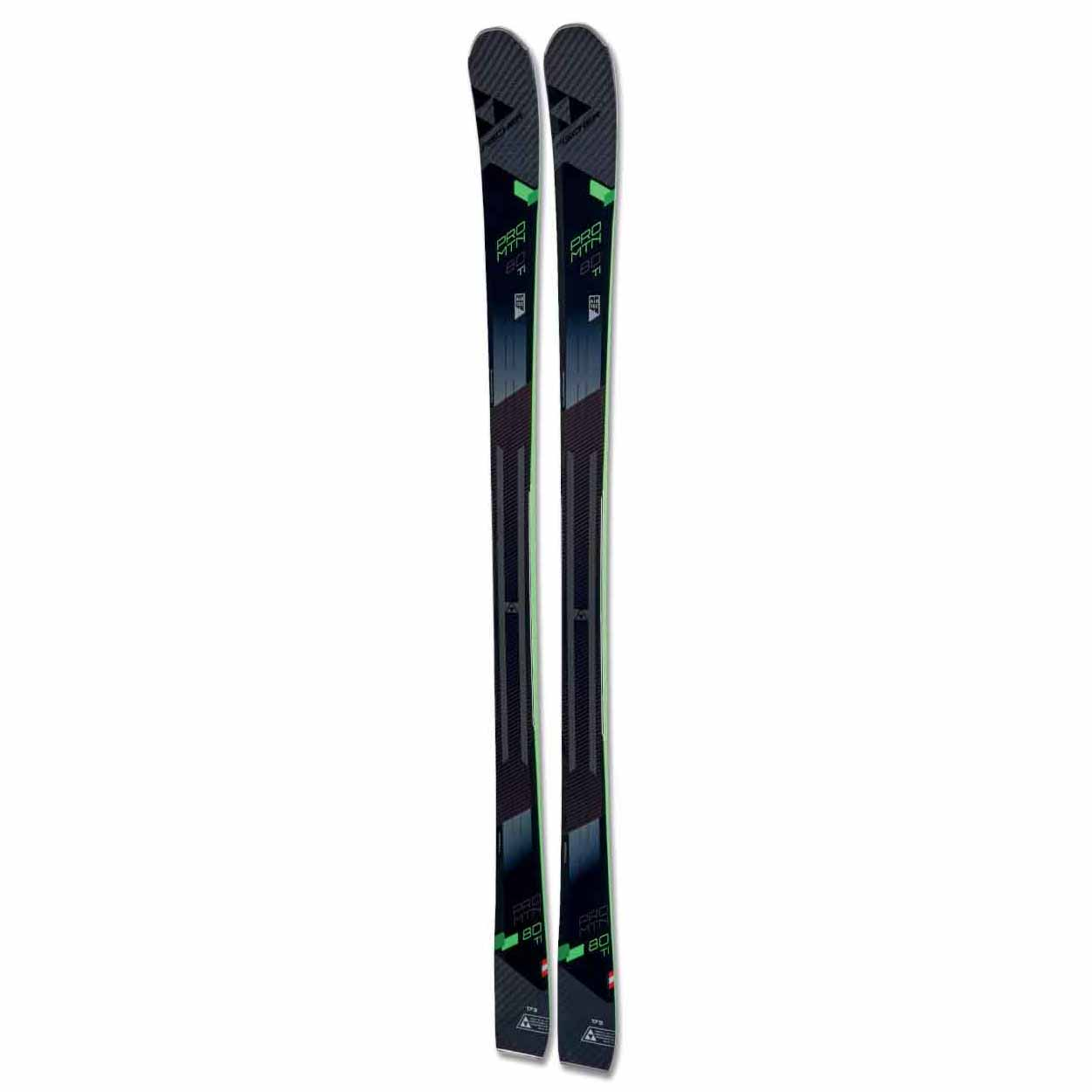 2017-18 Fischer Pro MTN 80 Ti Ski With Attack 11 Binding
