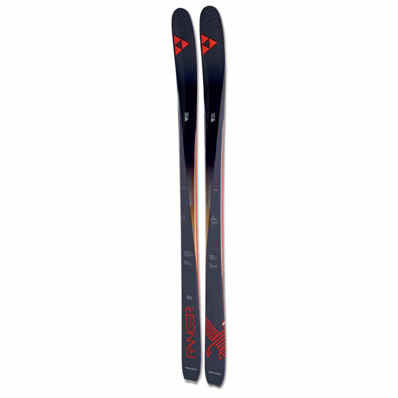 2017-18 Fischer Ranger 90 Ti Ski With Attack 11 Binding
