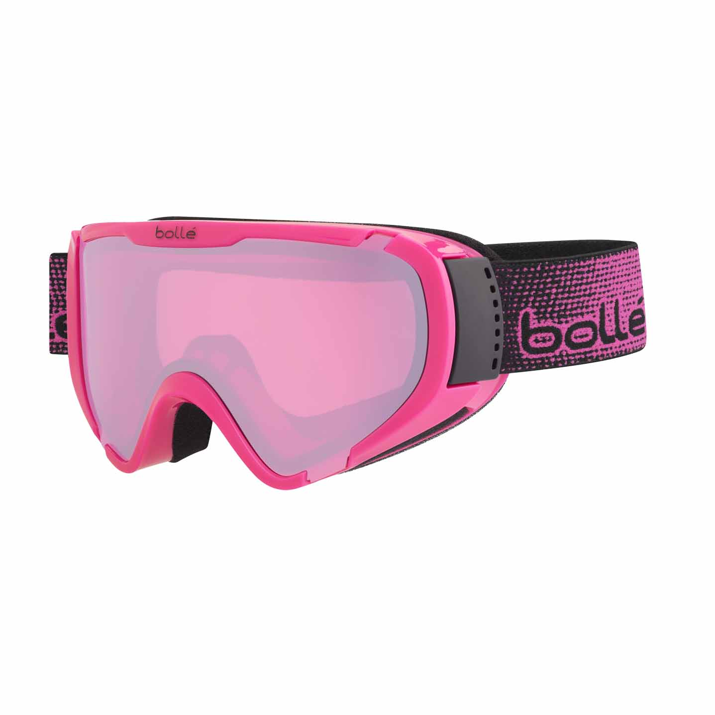 2017-18 Bolle Explorer OTG Ski And Snowboard Goggle shiny pink
