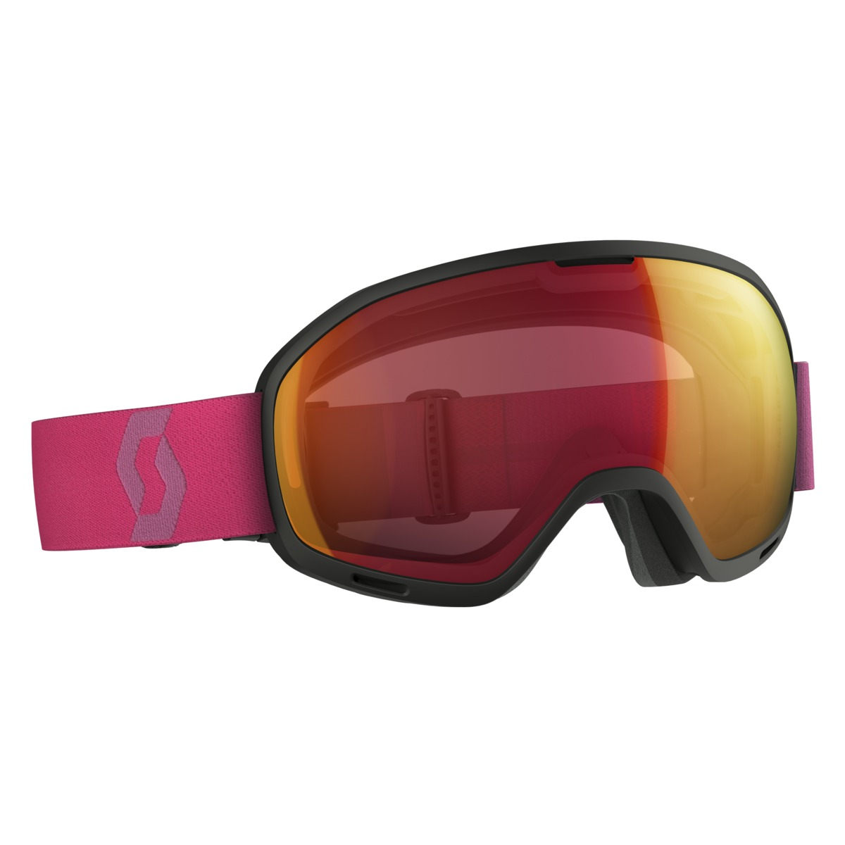 2017-18 Scott Unlimited II OTG Ski Goggle Illuminator Cat 1 Lens black/berry