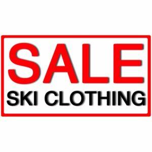 Sale Ski Clothing