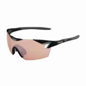 Bolle 6th Sense Shiny Black/Grey Photo Cycling Sunglasses