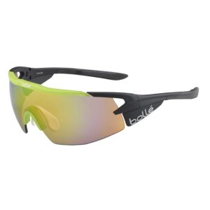 Bolle Aeromax Matte Black/Trans Green Cycling Glasses