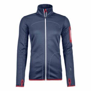 2018-19 Ortovox Womens Fleece Jacket night blue