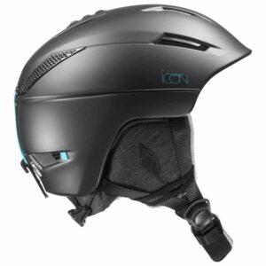 2018-19 Salomon Icon 2 Womens Ski and Snowboard Helmet black