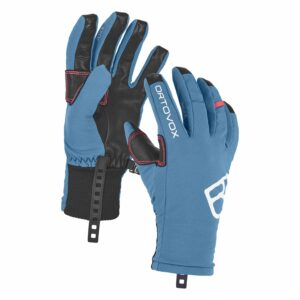 2018-19 Ortovox Tour Womens Ski Glove blue sea