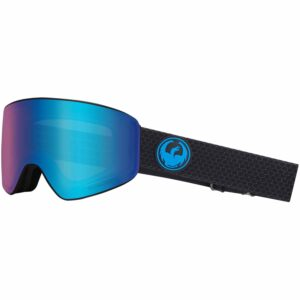 2018-19 Dragon PXV Ski and Snowboard Goggle split blue ion