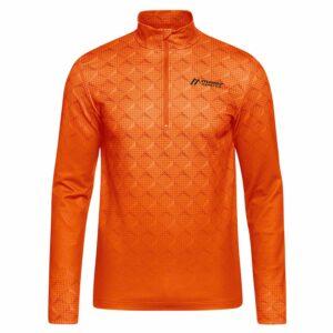 2018-19 Maier Nodin Mens Fleece tangerine tango