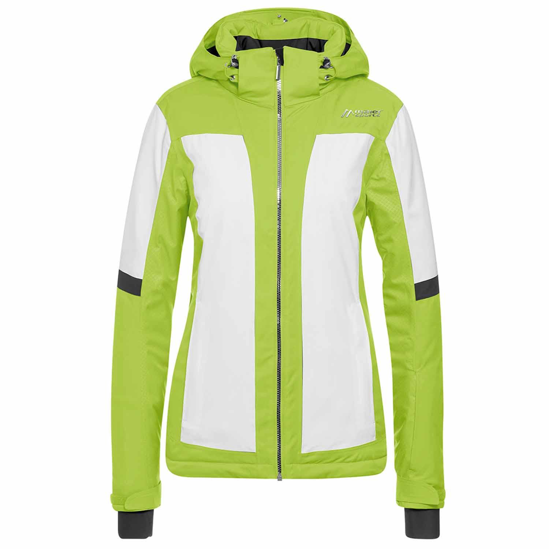 b3b6a8e10c5b 2018-19 Maier Valisera Womens Ski Jacket Lime - Anything Technical
