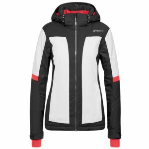 2018-19 Maier Valisera Womens Ski Jacket black and white