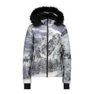 2018-19 CMP Eco Fur Womens Ski Jacket 38W1376F