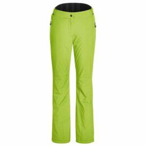 Maier Vroni Slim Womens Ski Pant lime green