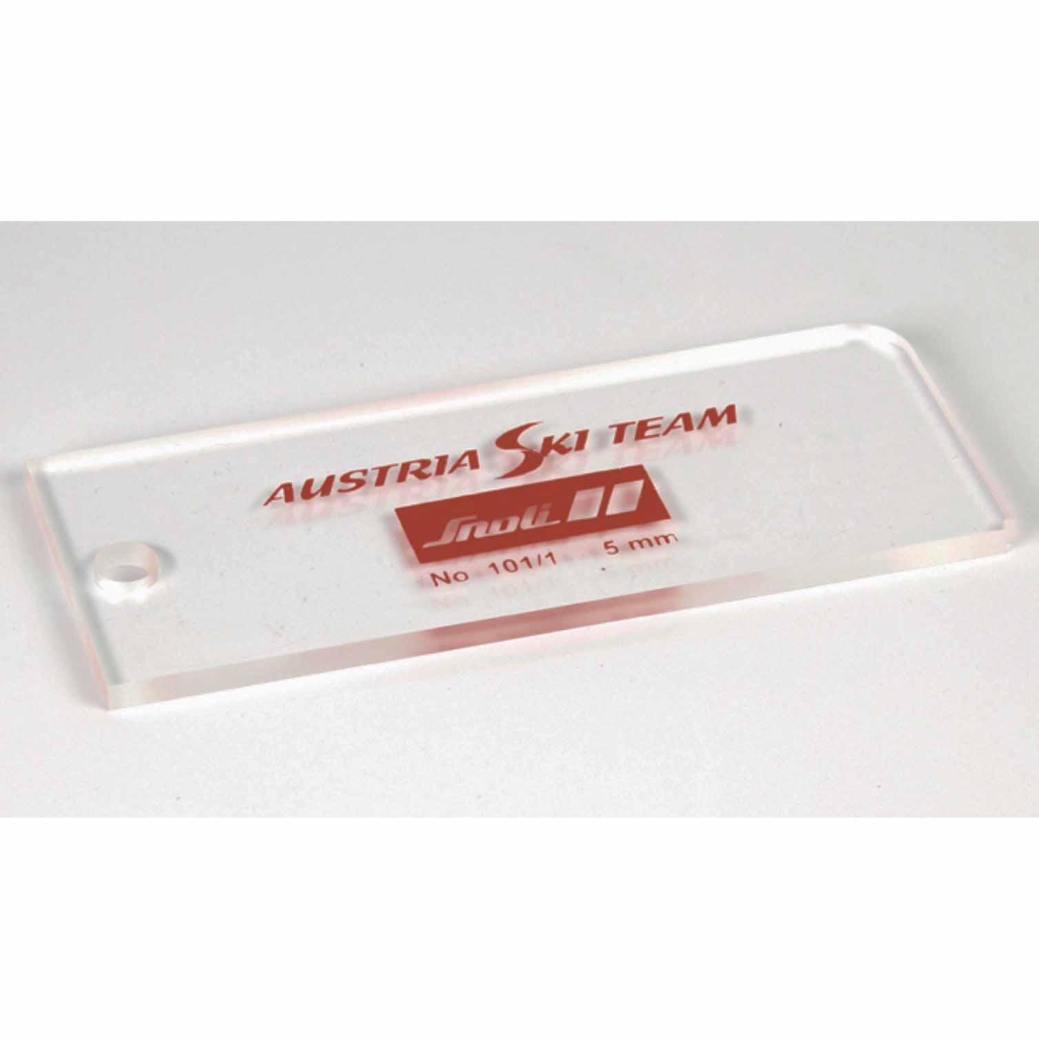 5 mm Thick Holmenkol Wax Scraper