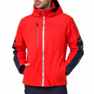 2018-19 Rossignol Fonction Mens Ski Jacket crimson