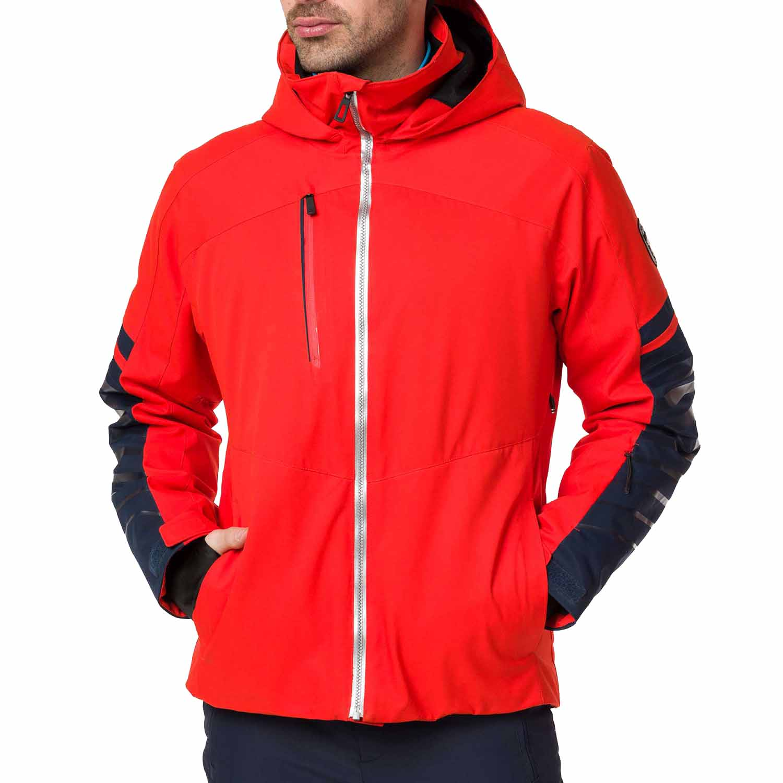 2f042319bf3b 2018-19 Rossignol Fonction Mens Ski Jacket crimson